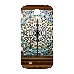 Stained Glass Window Library Of Congress Samsung Galaxy S4 I9500/i9505  Hardshell Back Case by Nexatart