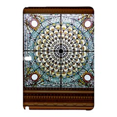 Stained Glass Window Library Of Congress Samsung Galaxy Tab Pro 12 2 Hardshell Case by Nexatart