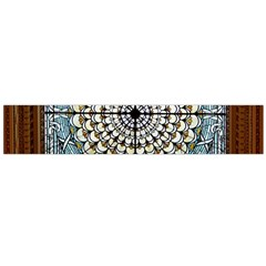 Stained Glass Window Library Of Congress Flano Scarf (large) by Nexatart