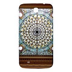 Stained Glass Window Library Of Congress Samsung Galaxy Mega I9200 Hardshell Back Case by Nexatart