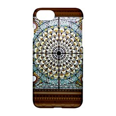 Stained Glass Window Library Of Congress Apple Iphone 7 Hardshell Case by Nexatart