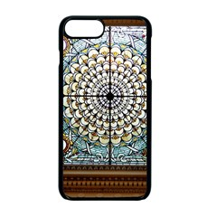 Stained Glass Window Library Of Congress Apple Iphone 7 Plus Seamless Case (black) by Nexatart