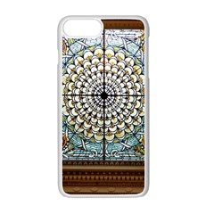 Stained Glass Window Library Of Congress Apple Iphone 7 Plus White Seamless Case by Nexatart