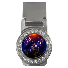 Star Advent Christmas Eve Christmas Money Clips (cz)  by Nexatart