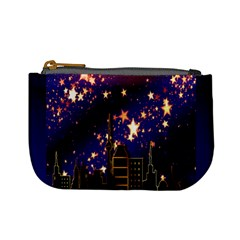 Star Advent Christmas Eve Christmas Mini Coin Purses by Nexatart