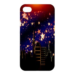 Star Advent Christmas Eve Christmas Apple Iphone 4/4s Premium Hardshell Case