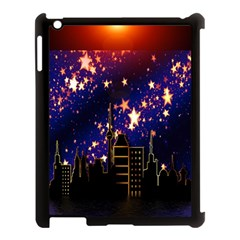 Star Advent Christmas Eve Christmas Apple Ipad 3/4 Case (black) by Nexatart
