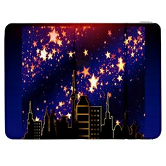 Star Advent Christmas Eve Christmas Samsung Galaxy Tab 7  P1000 Flip Case