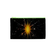 Star Christmas Advent Decoration Cosmetic Bag (xs) by Nexatart