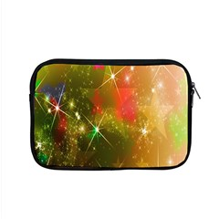Star Christmas Background Image Red Apple Macbook Pro 15  Zipper Case by Nexatart