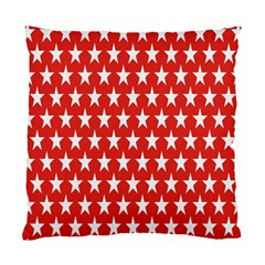 Star Christmas Advent Structure Standard Cushion Case (two Sides) by Nexatart