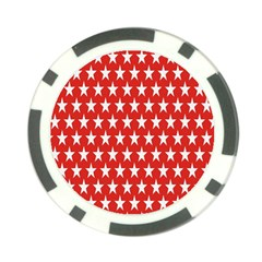 Star Christmas Advent Structure Poker Chip Card Guard (10 Pack) by Nexatart