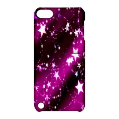 Star Christmas Sky Abstract Advent Apple Ipod Touch 5 Hardshell Case With Stand