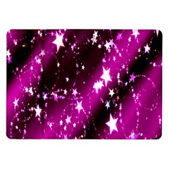 Star Christmas Sky Abstract Advent Samsung Galaxy Tab 10 1  P7500 Flip Case by Nexatart