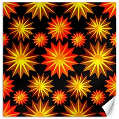 Stars Patterns Christmas Background Seamless Canvas 20  X 20