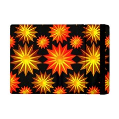 Stars Patterns Christmas Background Seamless Ipad Mini 2 Flip Cases by Nexatart