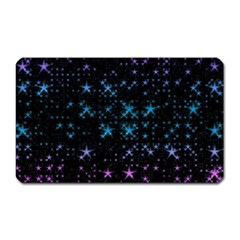 Stars Pattern Magnet (rectangular)