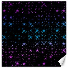Stars Pattern Canvas 12  X 12