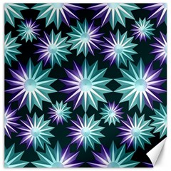 Stars Pattern Christmas Background Seamless Canvas 20  X 20   by Nexatart