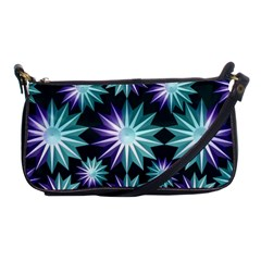 Stars Pattern Christmas Background Seamless Shoulder Clutch Bags by Nexatart