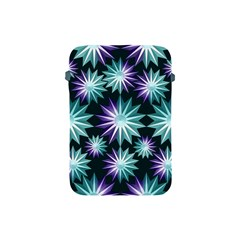 Stars Pattern Christmas Background Seamless Apple Ipad Mini Protective Soft Cases by Nexatart