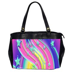 Star Christmas Pattern Texture Office Handbags (2 Sides)  by Nexatart
