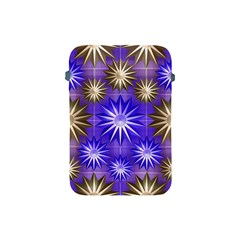 Stars Patterns Christmas Background Seamless Apple Ipad Mini Protective Soft Cases by Nexatart
