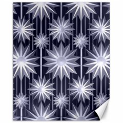 Stars Patterns Christmas Background Seamless Canvas 16  X 20