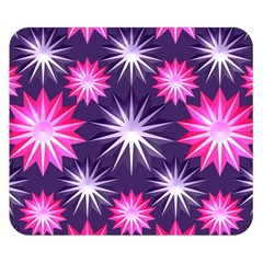 Stars Patterns Christmas Background Seamless Double Sided Flano Blanket (small)  by Nexatart