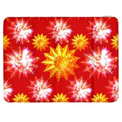 Stars Patterns Christmas Background Seamless Samsung Galaxy Tab 7  P1000 Flip Case