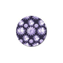 Stars Patterns Christmas Background Seamless Golf Ball Marker (10 Pack)