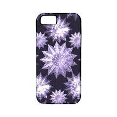 Stars Patterns Christmas Background Seamless Apple Iphone 5 Classic Hardshell Case (pc+silicone) by Nexatart