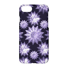 Stars Patterns Christmas Background Seamless Apple Iphone 7 Hardshell Case