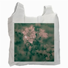 Surreal Floral Recycle Bag (two Side)  by dflcprints