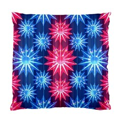 Stars Patterns Christmas Background Seamless Standard Cushion Case (two Sides) by Nexatart