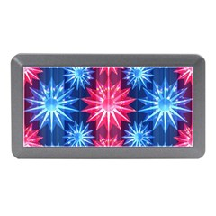 Stars Patterns Christmas Background Seamless Memory Card Reader (mini)