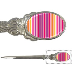 Stripes Colorful Background Pattern Letter Openers by Nexatart