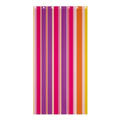 Stripes Colorful Background Pattern Shower Curtain 36  X 72  (stall)  by Nexatart