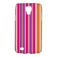Stripes Colorful Background Pattern Galaxy S4 Active by Nexatart