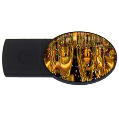 Sylvester New Year S Eve Usb Flash Drive Oval (2 Gb) by Nexatart
