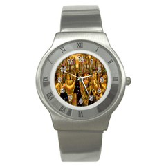 Sylvester New Year S Eve Stainless Steel Watch