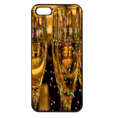 Sylvester New Year S Eve Apple Iphone 5 Seamless Case (black)