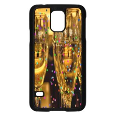 Sylvester New Year S Eve Samsung Galaxy S5 Case (black) by Nexatart