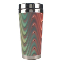 Texture Digital Painting Digital Art Stainless Steel Travel Tumblers by Nexatart