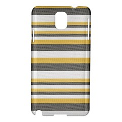 Textile Design Knit Tan White Samsung Galaxy Note 3 N9005 Hardshell Case by Nexatart