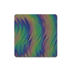 Texture Abstract Background Square Magnet by Nexatart
