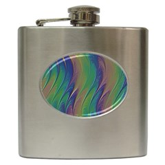 Texture Abstract Background Hip Flask (6 Oz) by Nexatart