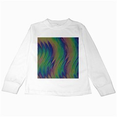 Texture Abstract Background Kids Long Sleeve T Shirts by Nexatart