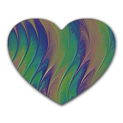 Texture Abstract Background Heart Mousepads by Nexatart