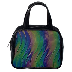 Texture Abstract Background Classic Handbags (one Side) by Nexatart